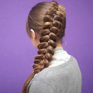французская коса наоборот пошаговая инструкция