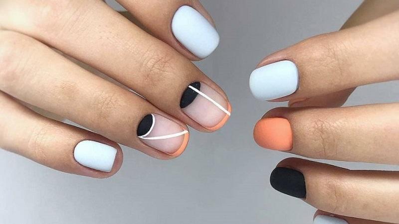 дизайн ногтей на короткие