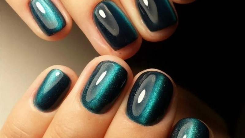дизайн ногтей на короткие ногти овальной формы