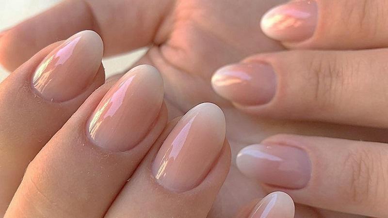 градиент на ногтях гель лаком